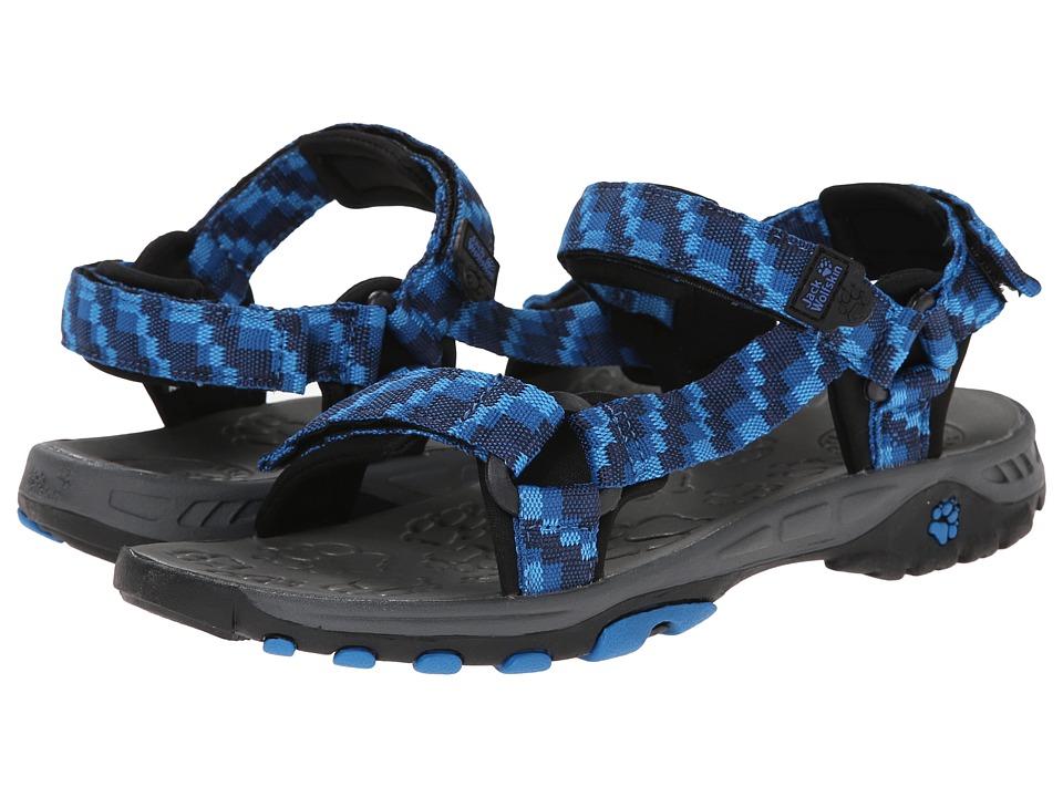 Jack Wolfskin Kids - Seven Seas (Toddler/Little Kid/Big Kid) (Classic Blue) Kid's Shoes