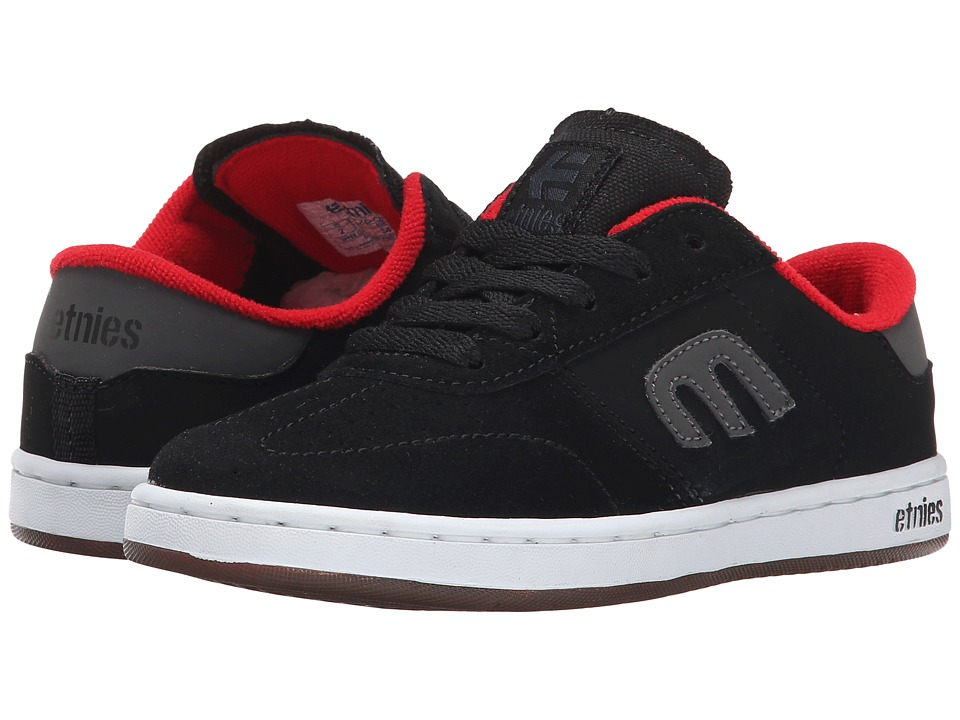 etnies Kids - Lo-Cut (Toddler/Little Kid/Big Kid) (Black) Boys Shoes