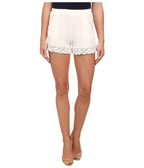 Nightcap - Penny Pocket Shorts (White) Women's Shorts