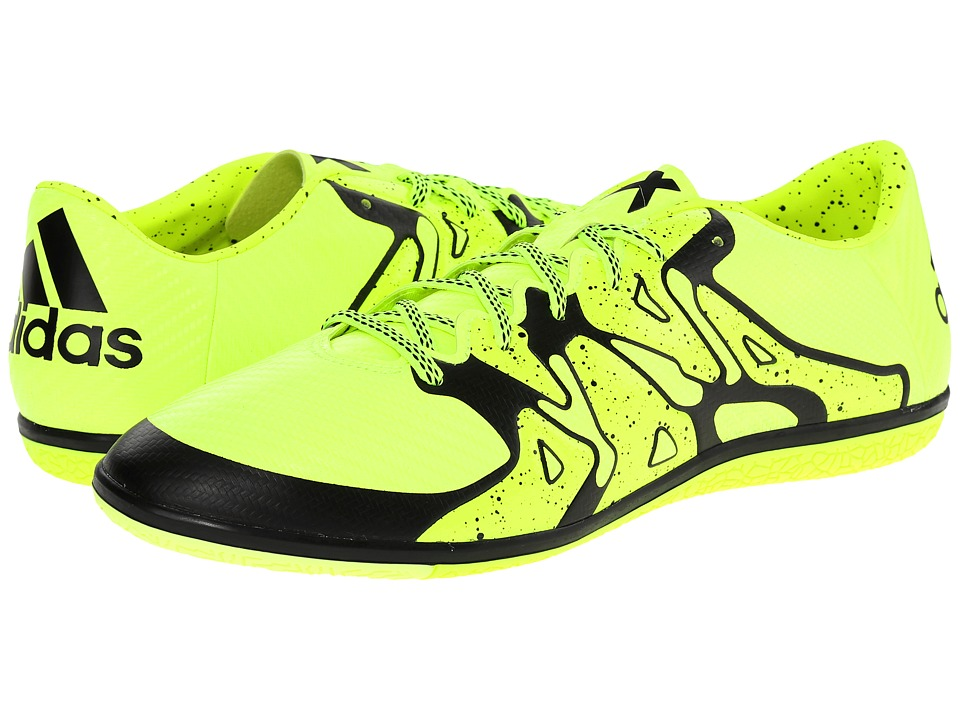 adidas - X Low IN (Solar Yellow/Frozen Yellow/Black) Men's Soccer Shoes