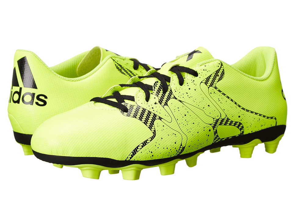 adidas - X Entry FxG (Solar Yellow/Frozen Yellow/Black) Men's Soccer Shoes