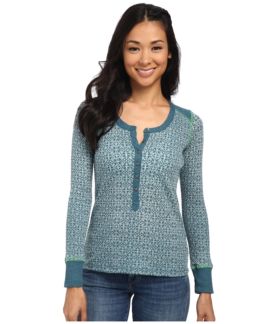 Kuhl - Mia Thermal (Deep Sea) Women's Long Sleeve Pullover