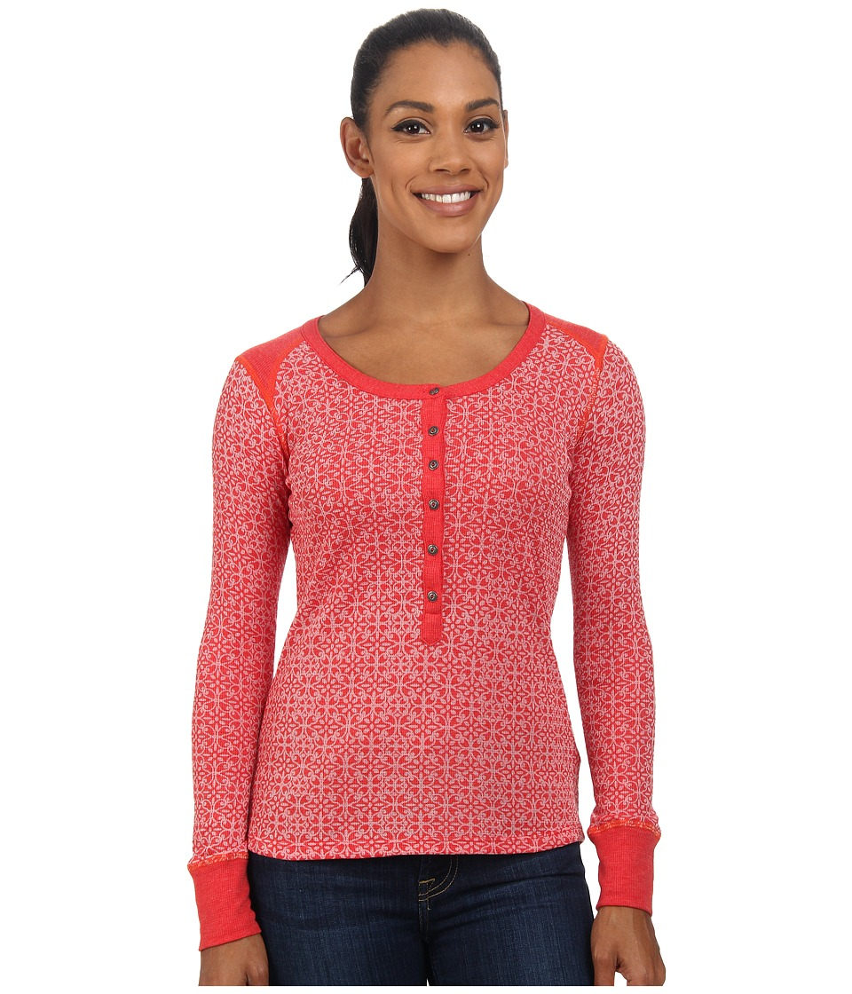 KUHL - Mia Thermal (Paprika) Women's Long Sleeve Pullover