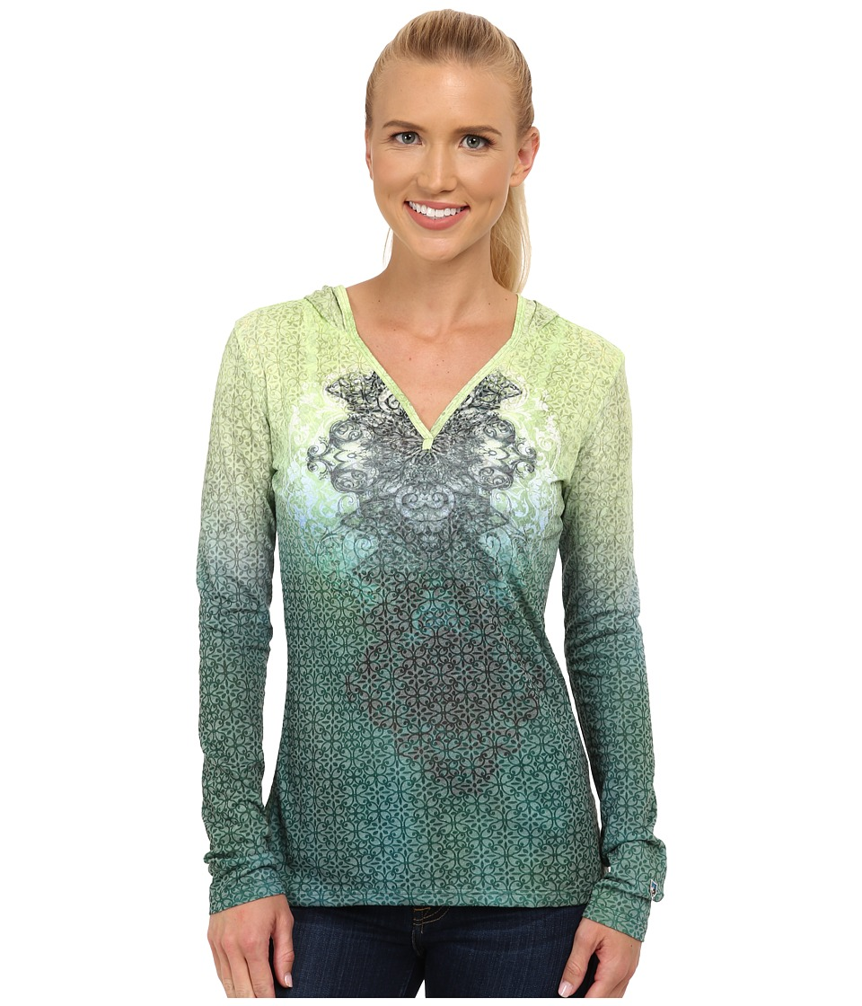 Kuhl - Basel Hoodie (Seaglass) Women's Long Sleeve Pullover
