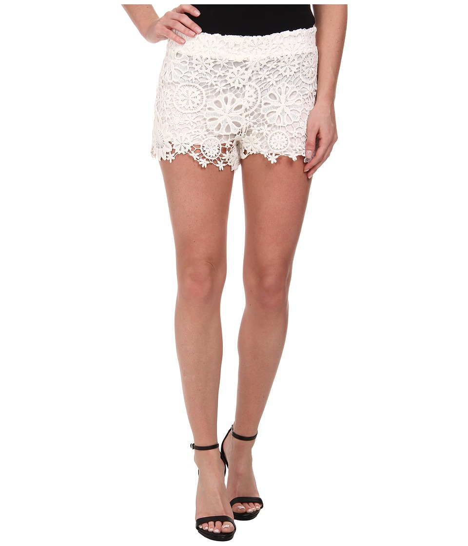 Nightcap - Caribbean Crochet Shorts (White) Women's Shorts