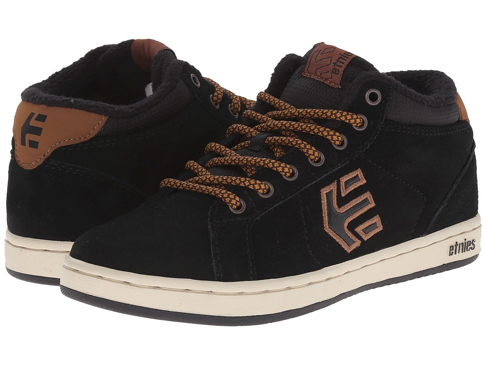 etnies Kids - Fader MT (Toddler/Little Kid/Big Kid) (Black/Brown) Boys Shoes