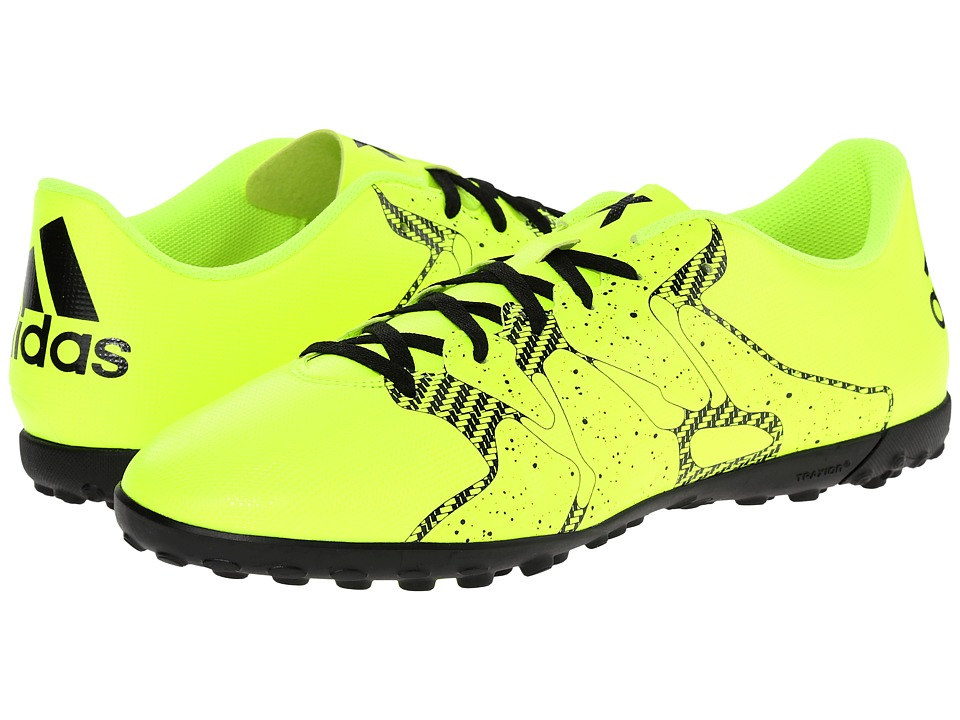 adidas - X Entry TF (Solar Yellow/Frozen Yellow/Black) Men's Soccer Shoes