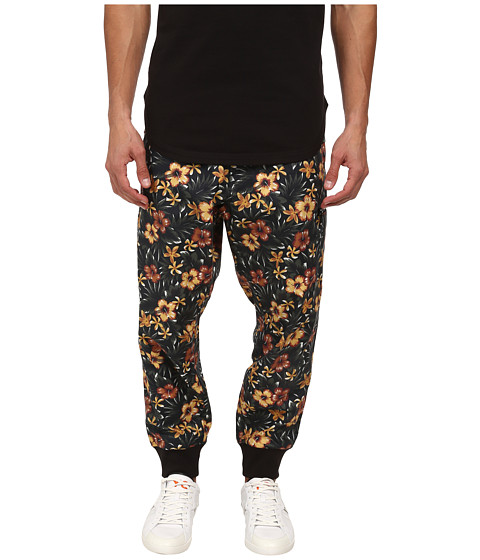 adidas Y-3 by Yohji Yamamoto - Printed Cargo Pants (Aop Flower 1) Men's Casual Pants