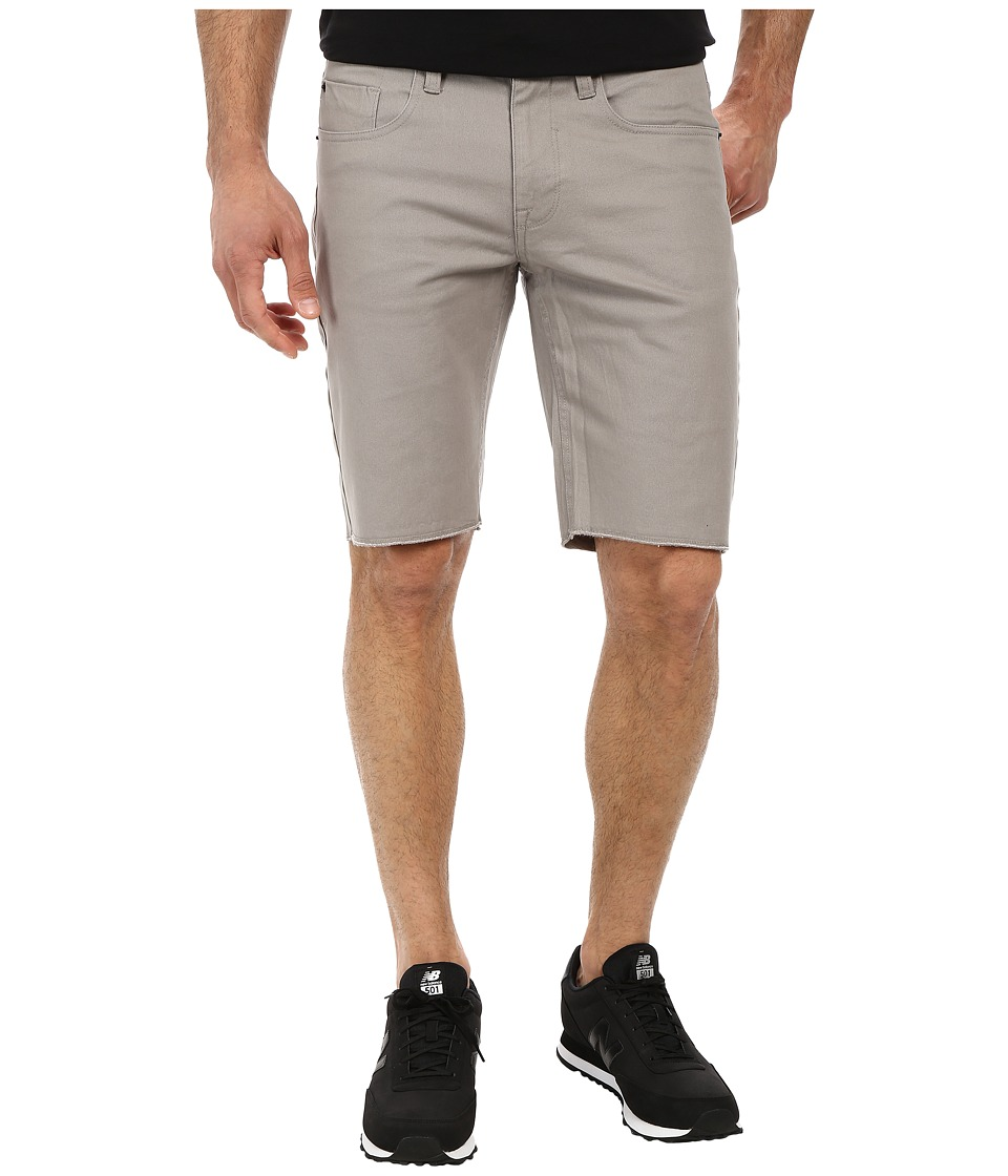 Matix Clothing Company - Gripper Twill Shorts (Light Grey) Men's Shorts