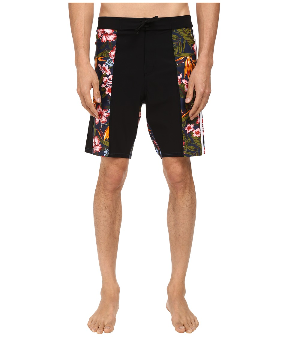 adidas Y-3 by Yohji Yamamoto - Floral Bermuda Shorts (Black/Aop Flower 2) Men's Shorts