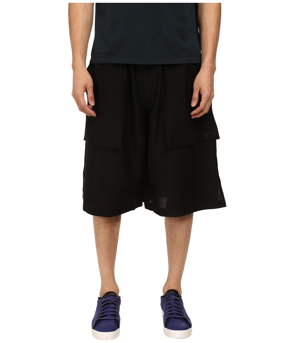 adidas Y-3 by Yohji Yamamoto - Resort Shorts (Black/Navy S) Men's Shorts