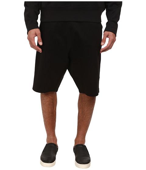 adidas Y-3 by Yohji Yamamoto - Lux Track Shorts (Black) Men