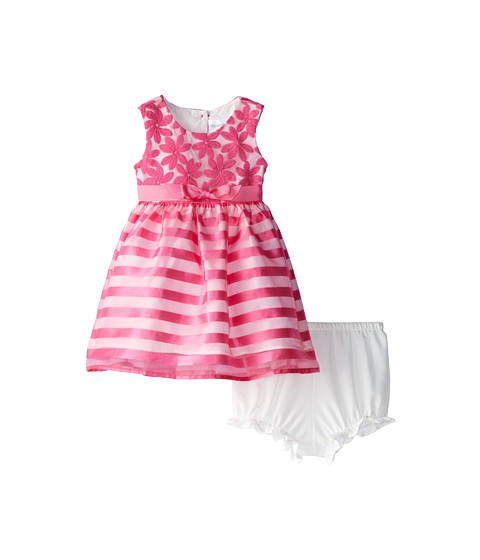 Us Angels - Sleeveless Waist Bodice w/ Full Skirt (Infant) (Parfait) Girl's Dress