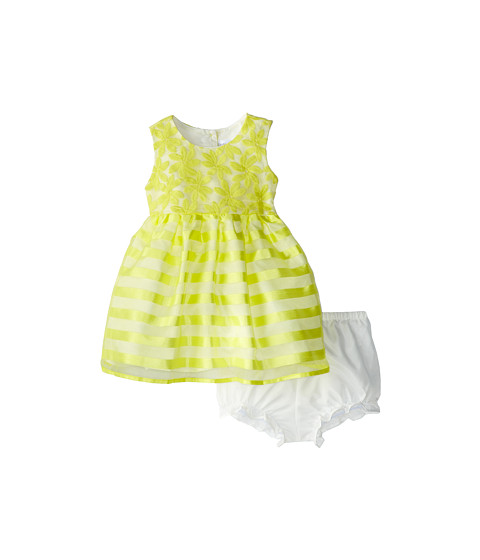 Us Angels - Sleeveless Waist Bodice w/ Full Skirt (Infant) (Yellow) Girl