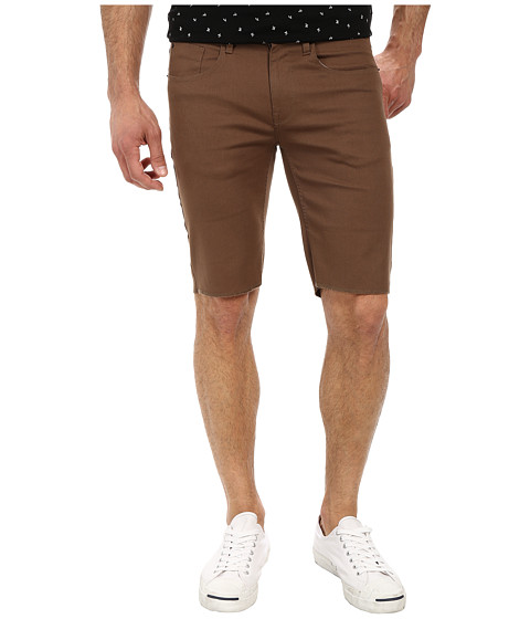 Matix Clothing Company - Gripper Bedford Shorts (Brown) Men's Shorts