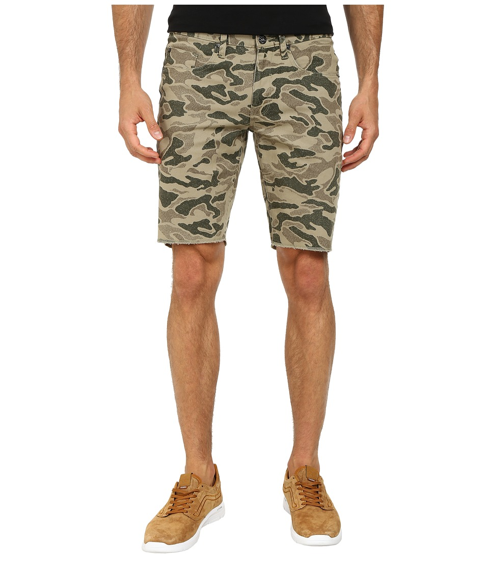 Matix Clothing Company - Gripper Twill Shorts (Olive Camo) Men's Shorts
