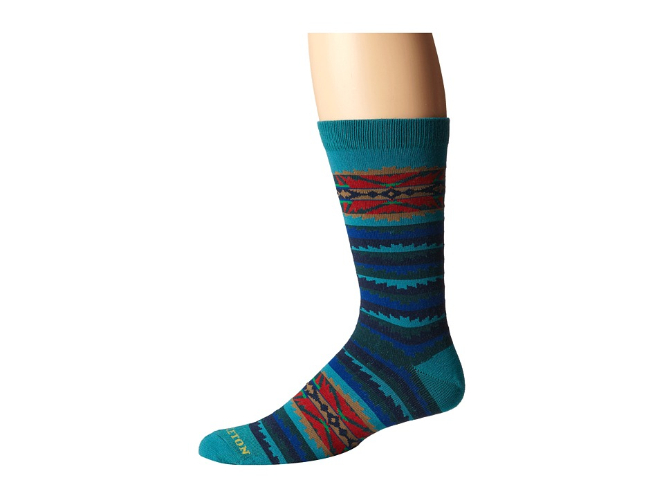 Pendleton - Lahaina Wave (Lahaina Wave Crew) Crew Cut Socks Shoes
