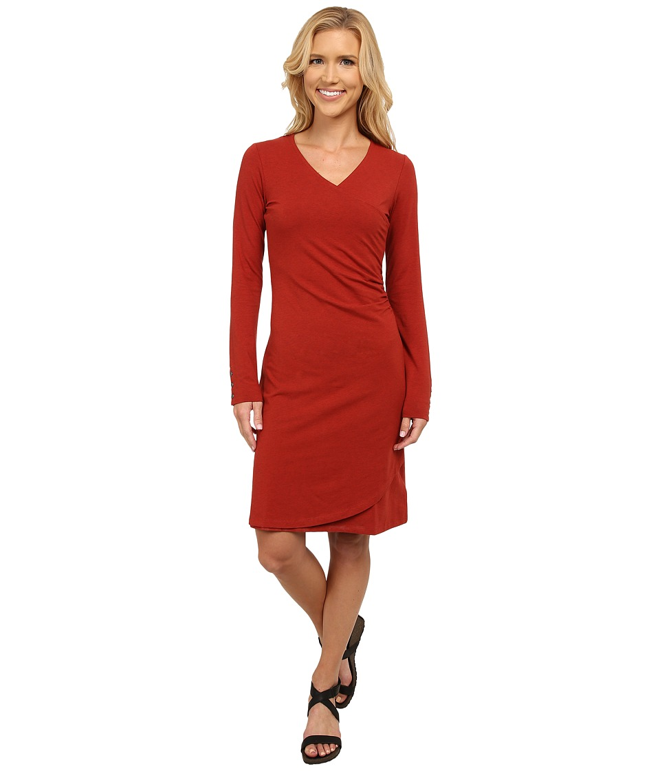 KUHL Viennatm Dress (Burnt Sienna) Women