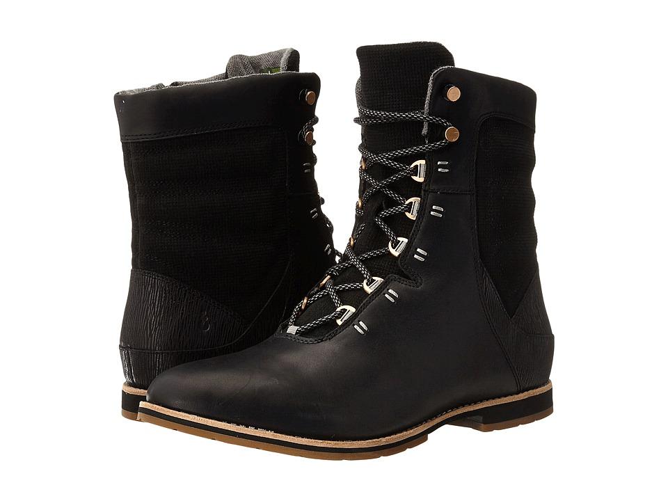Ahnu - Chenery (Black) Women's Shoes