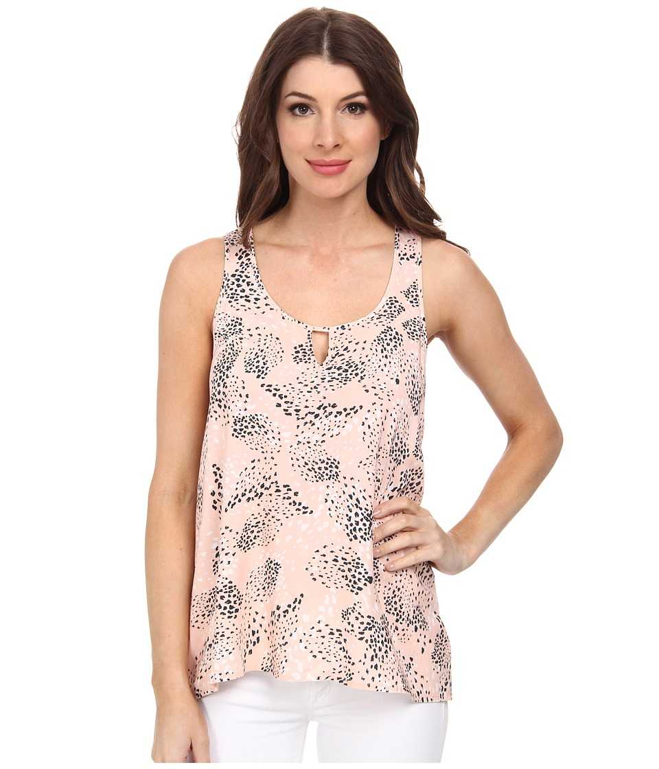 Jack by BB Dakota - Leone Cactus Sunrise Challi Top (Light Peach) Women's Clothing