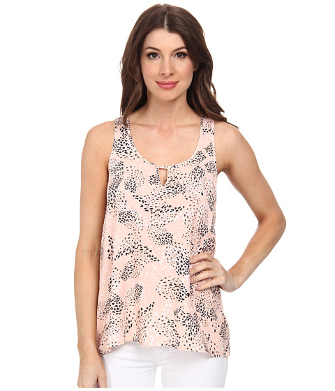 Jack by BB Dakota - Leone Cactus Sunrise Challi Top (Light Peach) Women