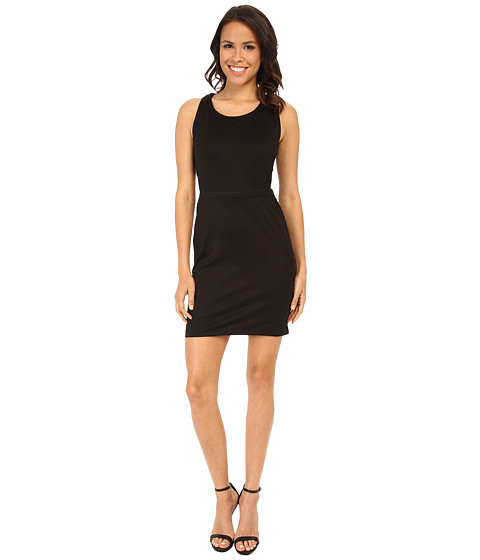 Jack by BB Dakota - Stellan Bodycon Ponte Dress (Black) Women's Dress