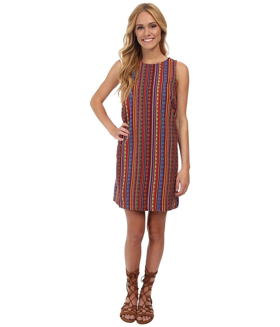 Jack by BB Dakota - Gilly Tribal Stripe Woven Dress (Multi) Women's Dress
