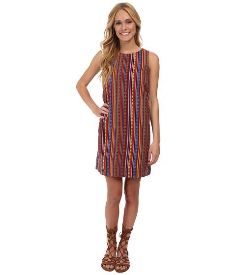 Jack by BB Dakota - Gilly Tribal Stripe Woven Dress (Multi) Women