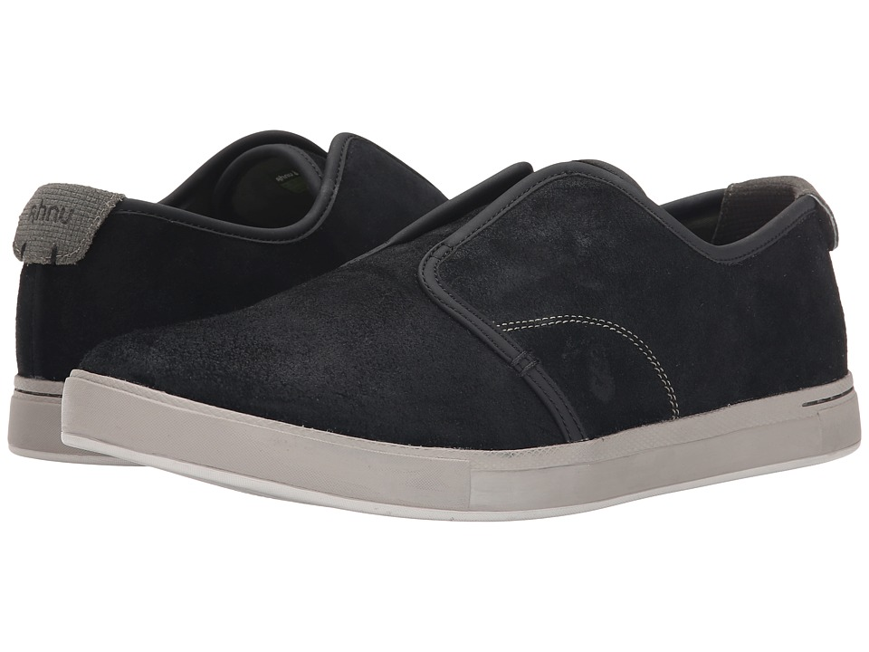 Ahnu - North Beach Leather (New Black) Men's Shoes