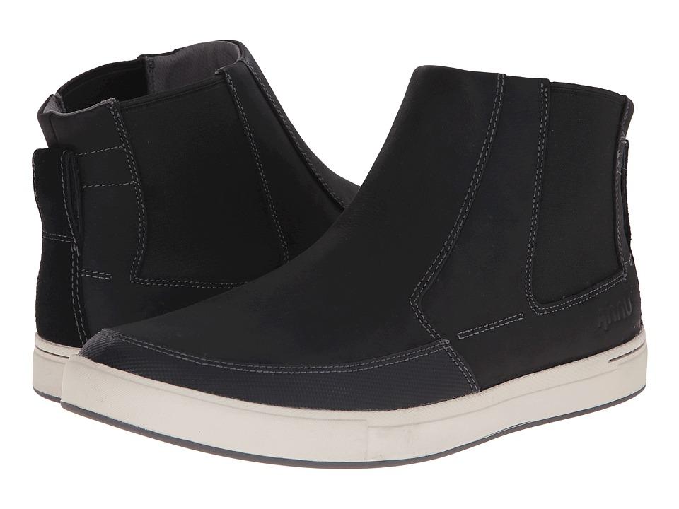Ahnu - Kezar (Black) Men's Shoes