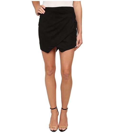Jack by BB Dakota - Doro Geometric Skirt (Black) Women's Skirt