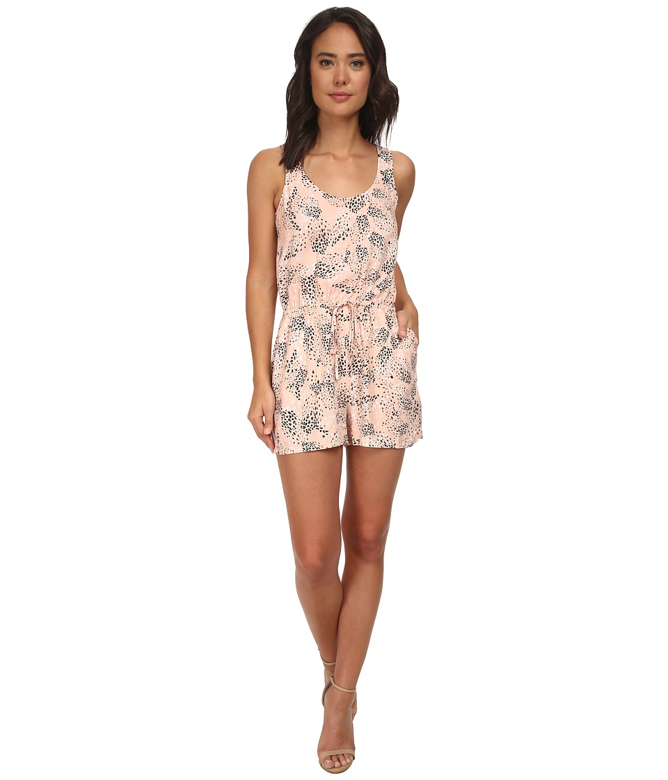 Jack by BB Dakota - Dune Cactus Sunrise Challi Romper (Light Peach) Women