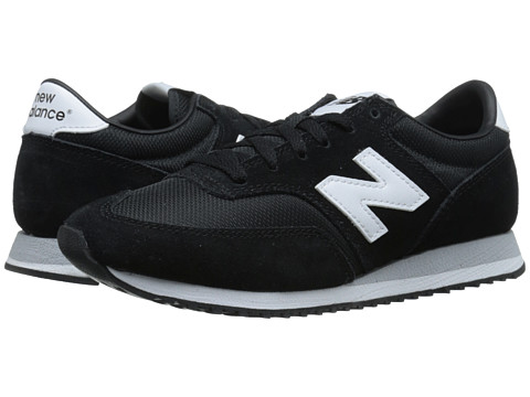 New Balance Classics - 620 - Core Collection (Black) Women's Shoes