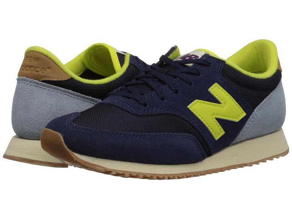 New Balance Classics - 620 - Redwoods (Blue/Grey) Women