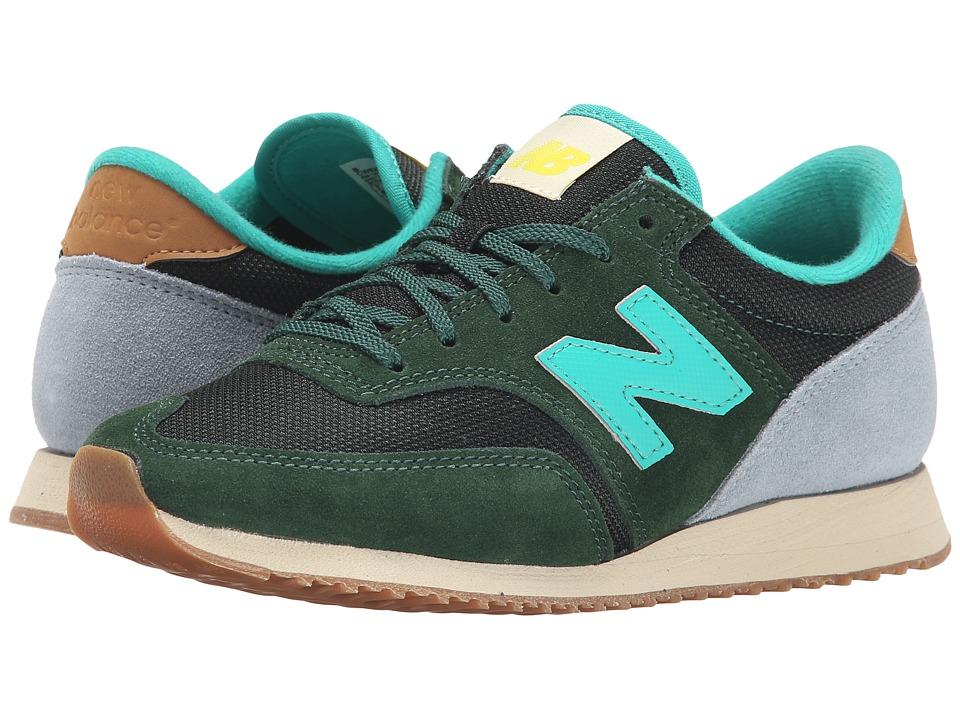 New Balance Classics - 620 - Redwoods (Green/Grey) Women's Shoes