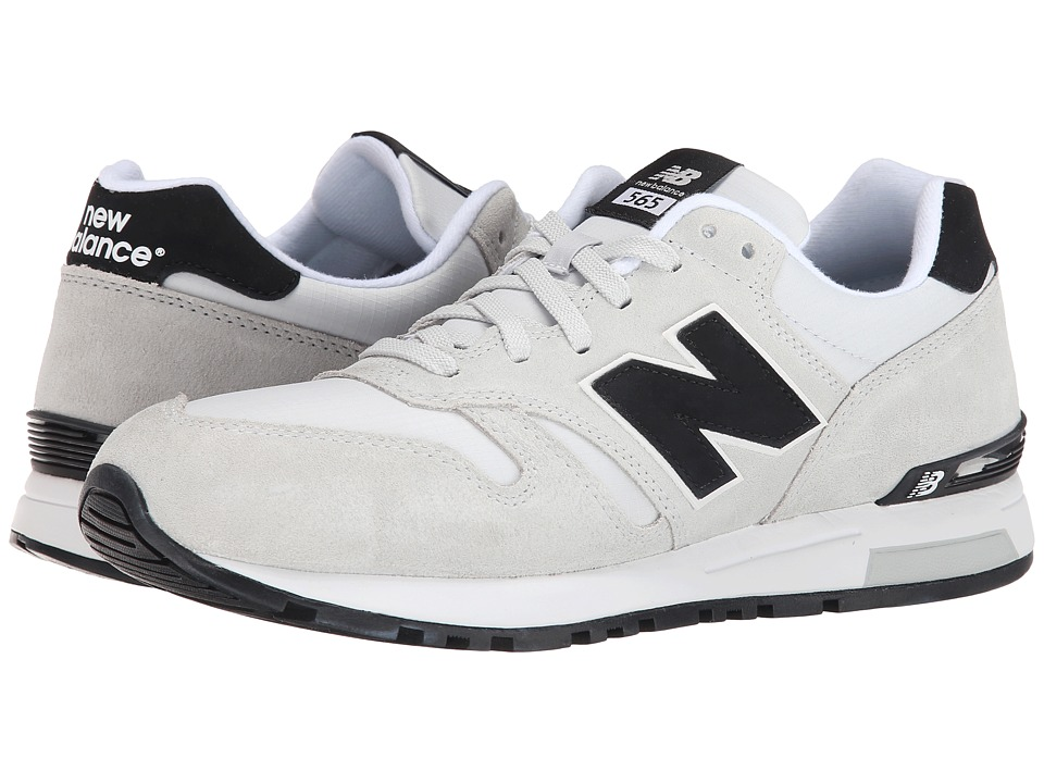 New Balance Classics - 565 - Suede/Ripstop (Grey) Men's Shoes