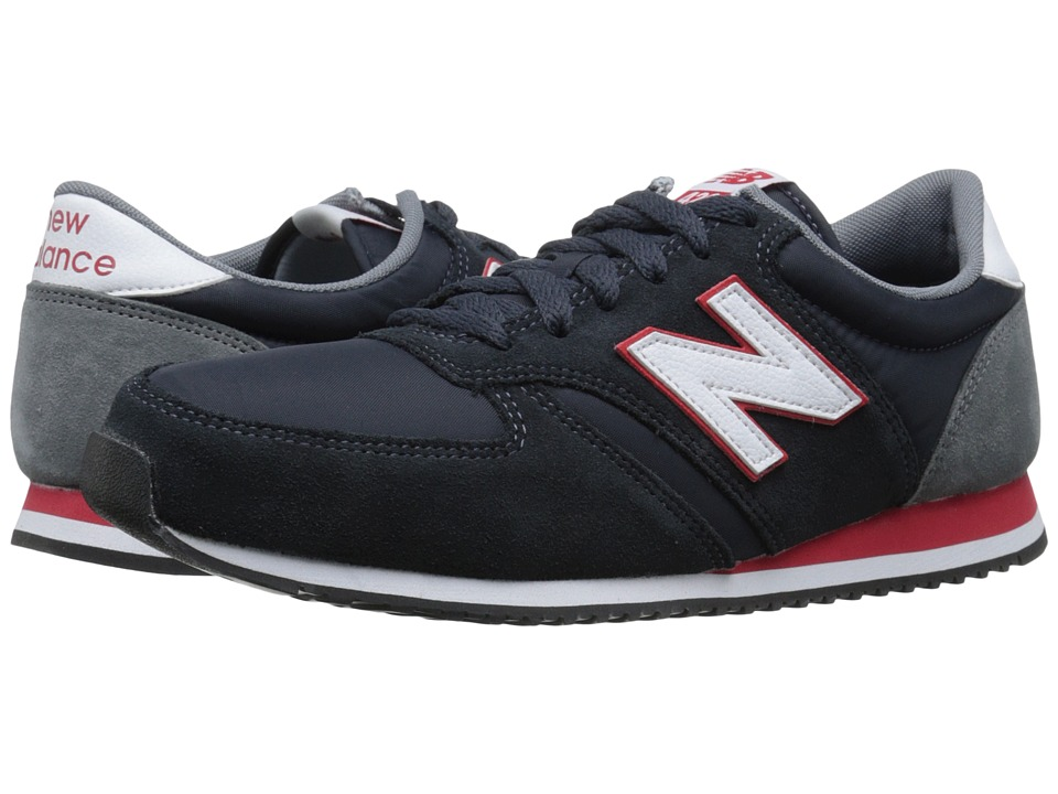 New Balance Classics - 420 - Suede/Nylon (Navy) Men's Shoes