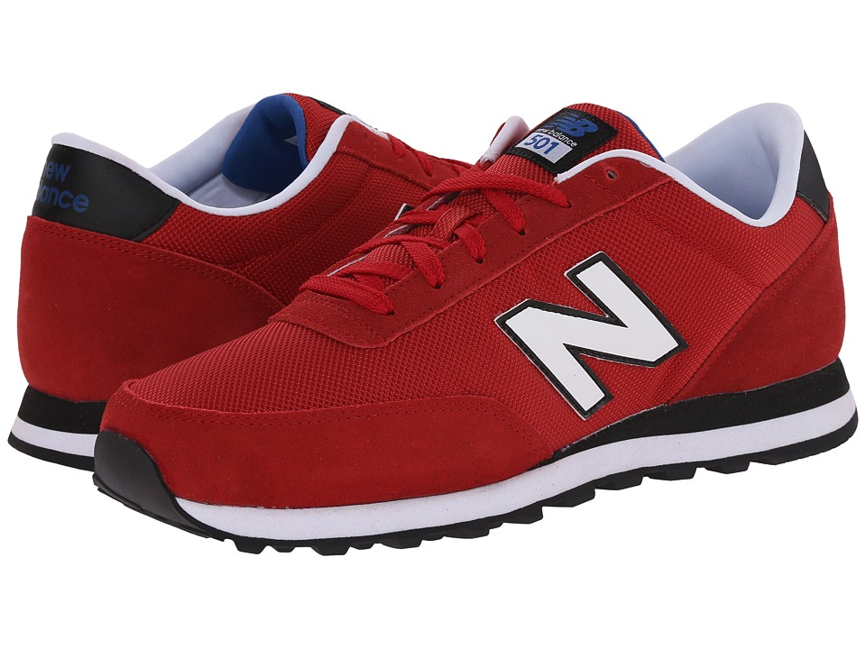 New Balance - 501 - Mono (Red/Black) Men's Shoes