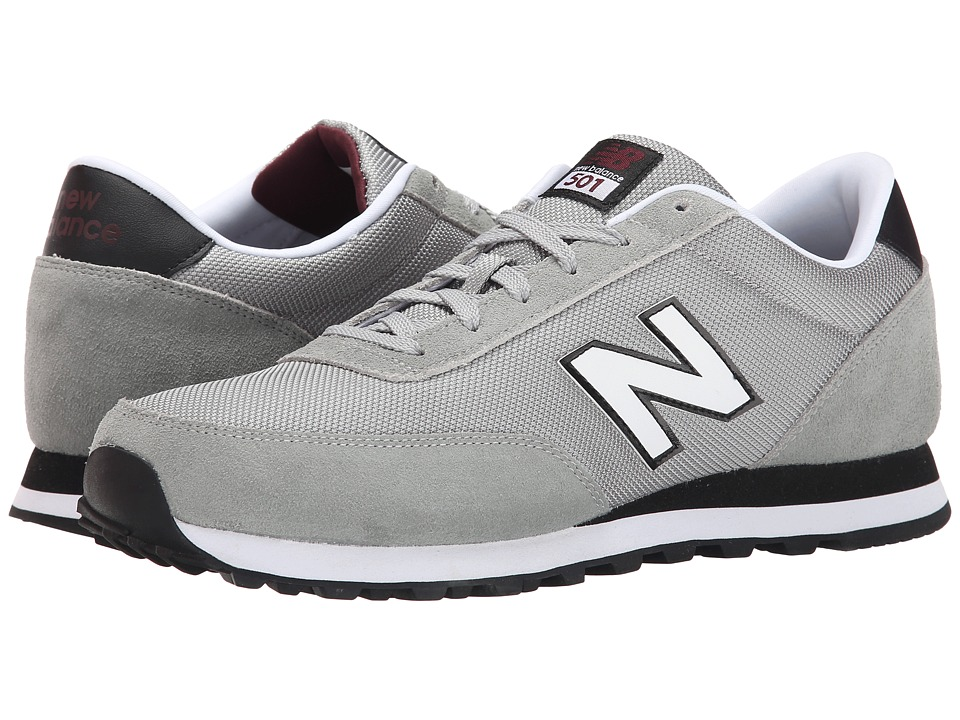 New Balance Classics - 501 - Mono (Grey/Black) Men's Shoes