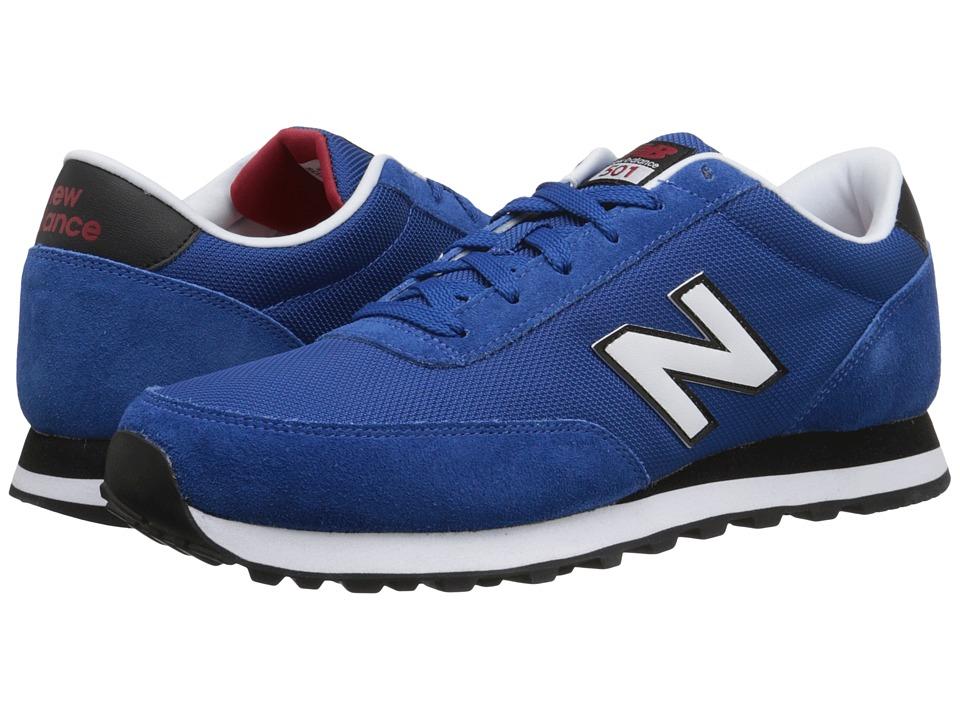 New Balance Classics - 501 - Mono (Blue/Black) Men's Shoes