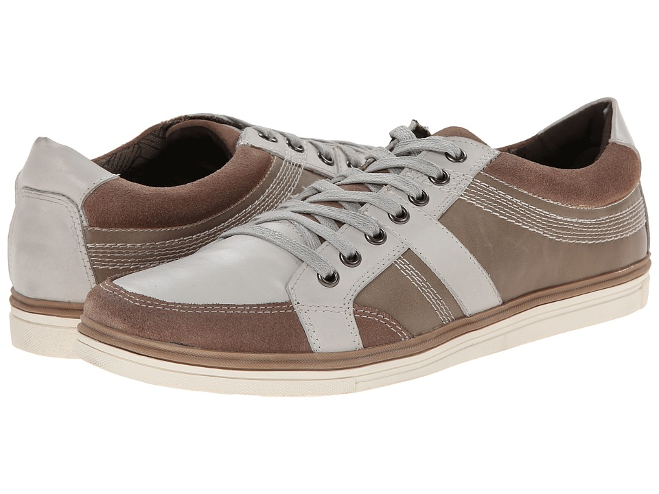 Kenneth Cole Reaction - Post Up (Light Grey) Men's Lace up casual Shoes