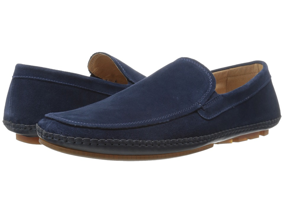 Kenneth Cole Reaction - Think Ahead (Navy) Men's Slip on Shoes