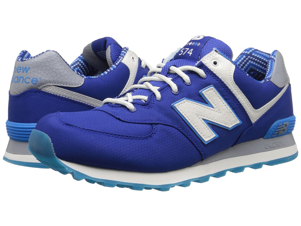 New Balance Classics - 574 - Street Beat (Blue/White) Men's Shoes