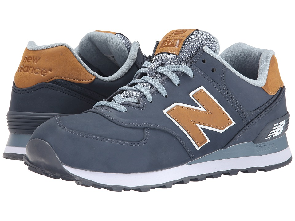 New Balance Classics - 574 - Lux (Dark Grey) Men's Shoes