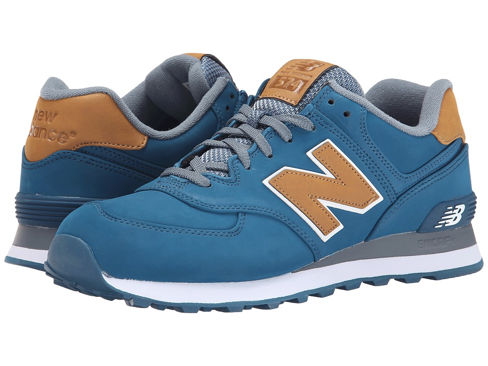 New Balance Classics - 574 - Lux (Blue) Men's Shoes