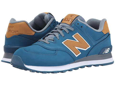 New Balance Classics - 574 - Lux (Blue) Men's Shoes