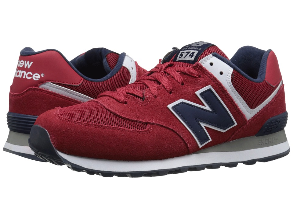 New Balance Classics - 574 - Varsity (Red/Navy) Men's Shoes