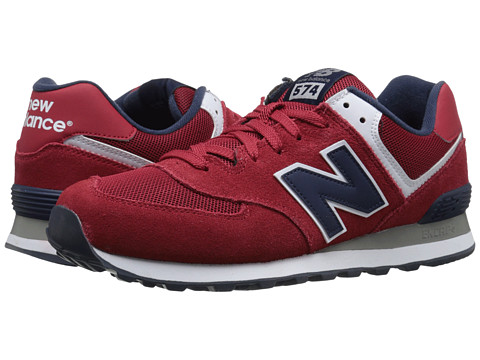New Balance Classics - 574 - Varsity (Red/Navy) Men
