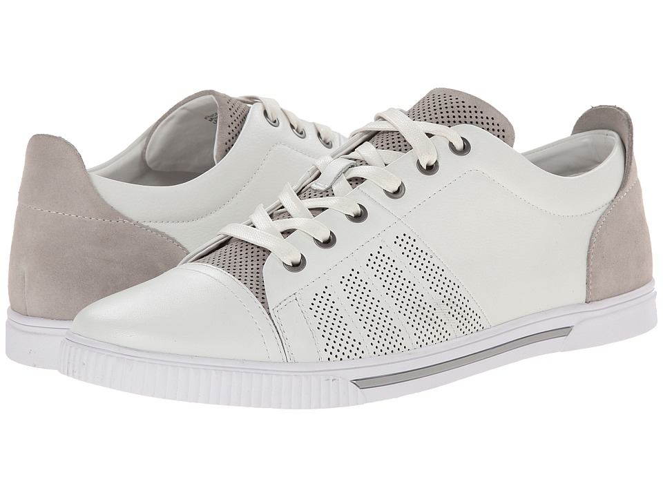 Kenneth Cole Reaction - Fence-ing Match (White) Men's Lace up casual Shoes