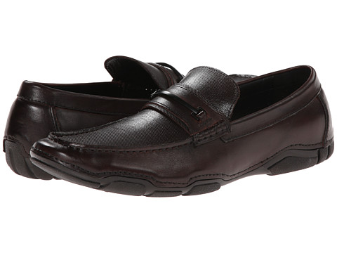 Kenneth Cole Reaction - Vic-Tour-Y (Brown) Men's Slip on Shoes
